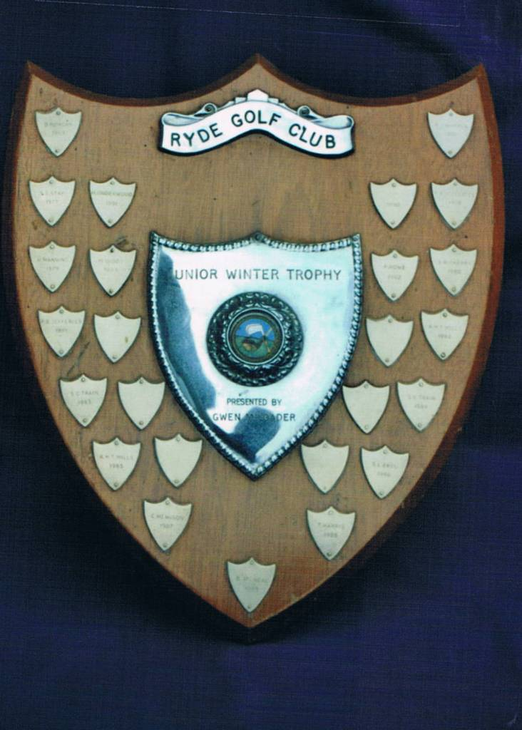 Picture of Junior Winter Trophy