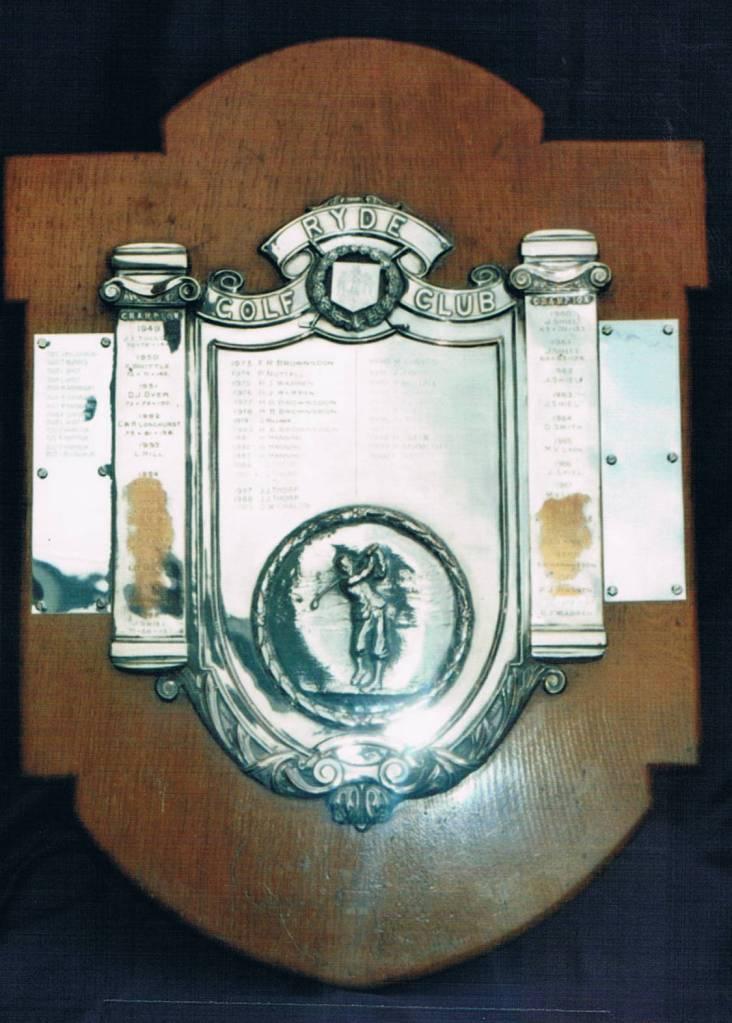 Picture of Men's Champion Golfer (Scratch) Shield